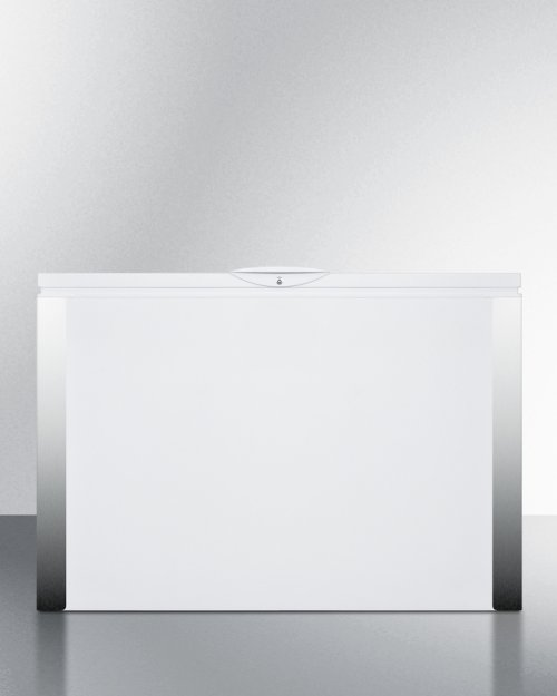 Commercially Listed 15 CU.FT. Frost-free Chest Refrigerator In White With Digital Thermostat for General Purpose Applications; ; Replaces Scfr120