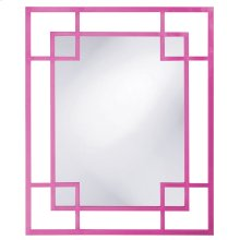 Lois Mirror - Glossy Hot Pink