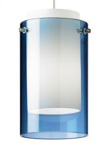 Steel Blue Mini Echo Pendant