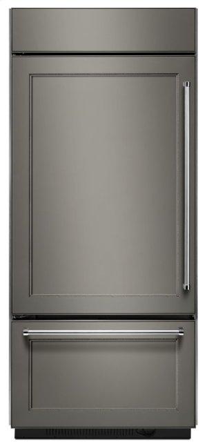 "20.9 Cu. Ft. 36"" Width Built-In Panel Ready Platinum Interior Bottom Mount Refrigerator Product Image"