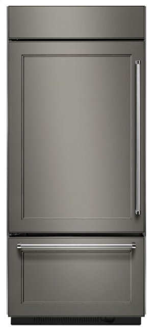 "20.9 Cu. Ft. 36"" Width Built-In Panel Ready Platinum Interior Bottom Mount Refrigerator Product Image"
