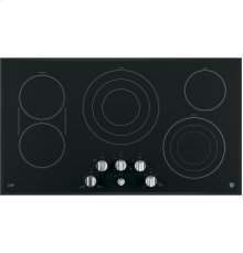 """GE Cafe™ Series 36"""" Built-In Knob Control Electric Cooktop [OPEN BOX]"""