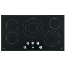 "GE Cafe™ Series 36"" Built-In Knob Control Electric Cooktop"