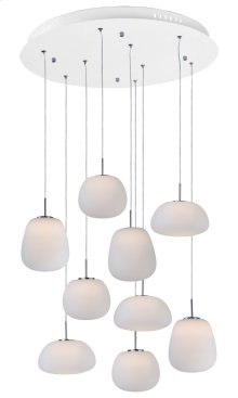Puffs 9-Light Pendant