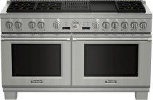 60-Inch Pro Grand Commercial Depth Dual Fuel Range PRD606RCG