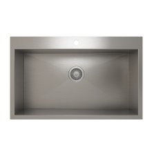 ProInox H0 Single Bowl Topmount Kitchen Sink ProInox H0 18-gauge Stainless Steel, 30'' x 16'' x 9''