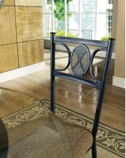"""Carolyn Beveled Glass Top 45"""" Round Tempered 8mm Product Image"""