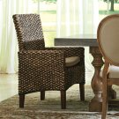 Mix-n-match Chairs - Woven Arm Chair - Hazelnut Finish Product Image