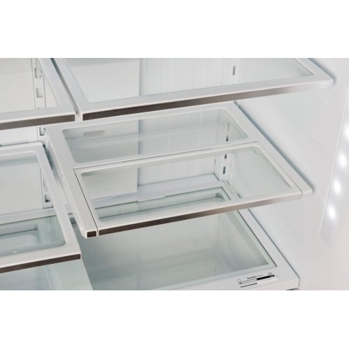800 Series French Door Bottom Mount Inox-easyclean