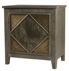 Bayshore End Table/nightstand - Distressed Graywash