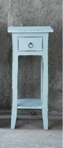 CC-TAB1792LD-SB  Cottage Accent Table  Sky Blue