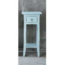 CC-TAB1792LD-SB  Cottage Accent Table  Sky Blue