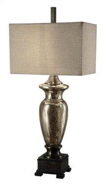 Antique Murcury Glass Table Lamp