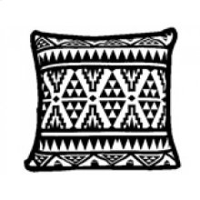 Yoruba Patterned Cushion- Small
