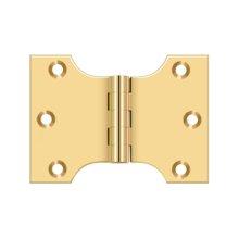 "3"" x 4"" Hinge - PVD Polished Brass"