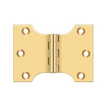 "3"" x 4"" Hinge - PVD Polished Brass"