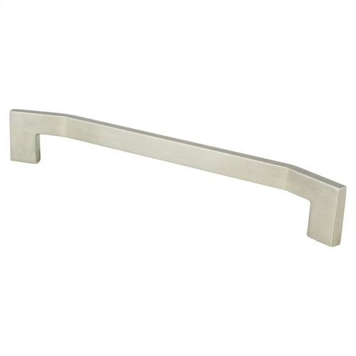 Angle 224mm CC Brushed Nickel Pull