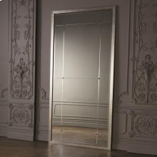 Beaumont Floor Mirror-Silver Leaf