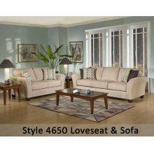 Viewpoint Tan/Viewpoint Coffee/Flair Spa 4650S - Sofa