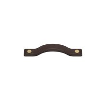 Button Bow 160 In Chocolate And Polished Brass