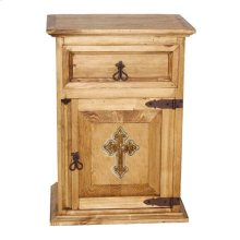 1 Drawer 1 Dr Ns W/ Cross