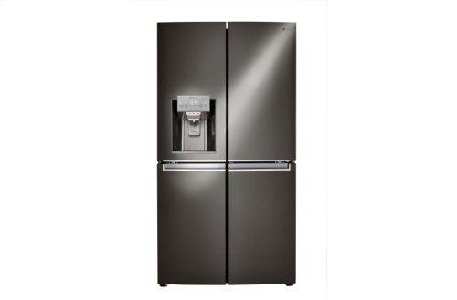 LG Black Stainless Steel Series 30 cu. ft. 4-Door Refrigerator with Door-in-Door®