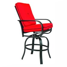 9813 Cushion Swivel Barstool