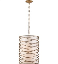 Visual Comfort S5046GI-L Barry Goralnick Bracelet 1 Light 16 inch Gilded Iron Pendant Ceiling Light