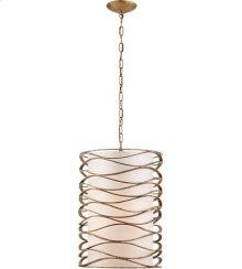 Visual Comfort S5046GI-L Barry Goralnick Bracelet 1 Light 16 inch Gilded Iron Pendant Ceiling Light