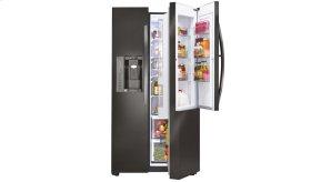 LG Black Stainless Steel Series 22 cu. ft. Side-By-Side Counter-Depth Refrigerator w/Door-in-Door®