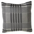 Grey Plaid Pillow Product Image