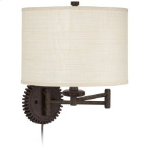 Livingston Industrial Gear Wall Lamp