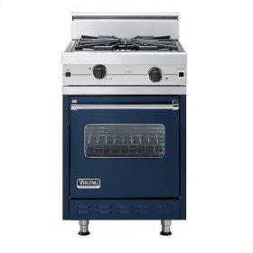 "Viking Blue 24"" Wok/Cooker Companion Range - VGIC (24"" wide range with wok/cooker, single oven)"
