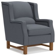 Cosmopolitan Chair w/ Platinum Nail Head Trim