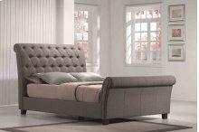 5/0 Upholstered Bed Kit Linen Mineral