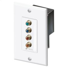 Wall-Mount CAT-5 Component Video & Dig Audio Balun C5-HDDAWM