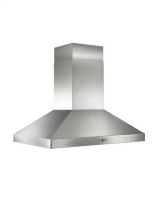"""Colonne Island - 42"""" x 30"""" Stainless Steel Island Range Hood with iQ12 Blower System, 1200 CFM"""
