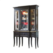 Classic Curio with Antique Mirror Back