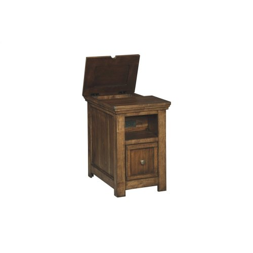 Flynnter Chair Side End Table