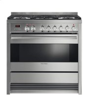 "Dual Fuel Range 36"", Self Cleaning Product Image"