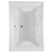 Town Square 60x42 inch EcoSilent Whirlpool  American Standard - White