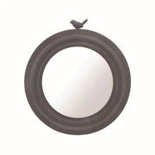 Round Bird Mirror