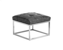Sutton Square Ottoman Small - Grey