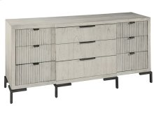 Sierra Heights Breakfront Dresser