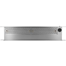 "Heritage 46"" Downdraft, Silver Stainless Steel"