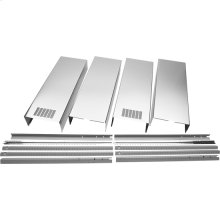Island Hood Chimney Extension Kit - Stainless Steel-ONE ONLY SN#94526