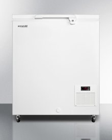 Commercial -45 C Capable Chest Freezer With Digital Thermostat and 4.8 CU.FT. Capacity