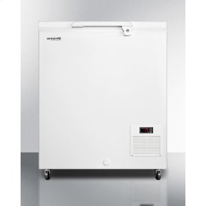 SummitCommercial -45 C Capable Chest Freezer With Digital Thermostat and 4.8 CU.FT. Capacity
