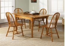 5 pc. Butterfly Leaf Dining Set