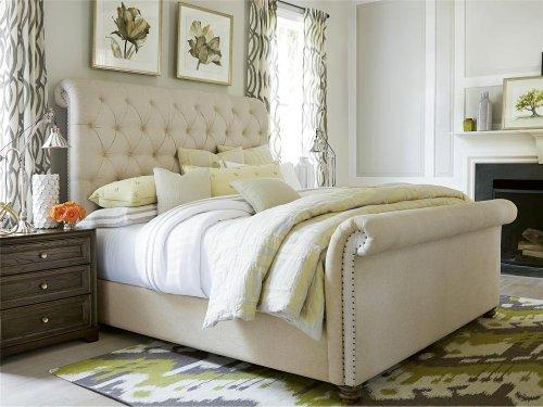 The Boho Chic King Bed - Bohemian Oak